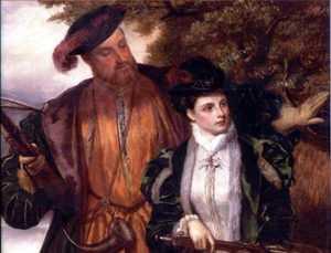 Генрих VIII и Анна Болейн